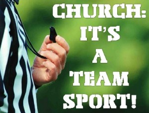 ChurchItsATeamSport