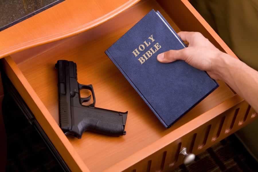 Jerry Falwell Jr. Abandons Christianity For A Gun