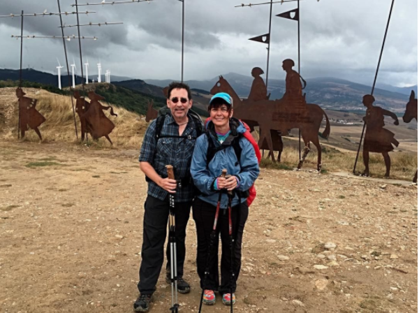 Episode 034: Camino Tales with Brian & Peri Zahnd