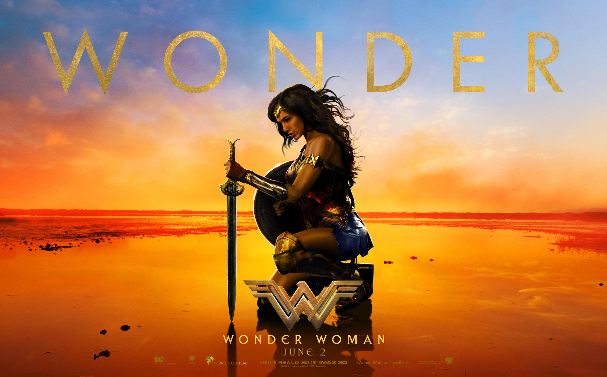 Episode 048: Wonder Woman – A Film Discussion with Mitch Birks & Martin Daniel