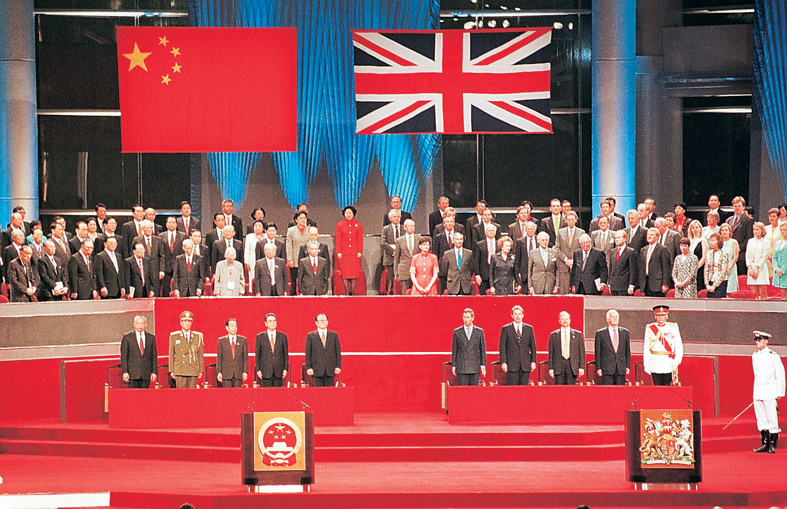 The Day The Union Jack Was Lowered: Remembering the Hong Kong ...